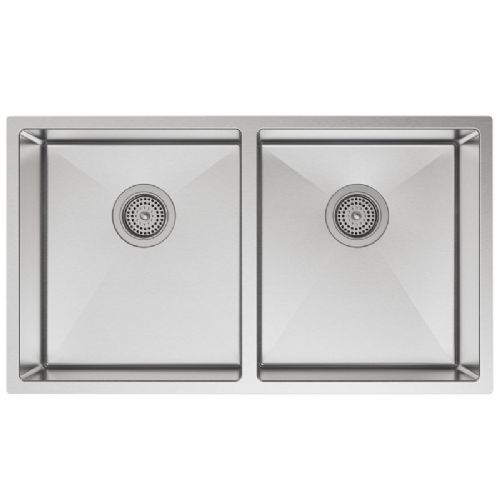 Kohler Strive Stainless Steel Double Bowl Kitchen Sink - 5281-NA